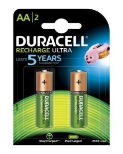 Pila recargable lr06 aa duracell 1,5v 2 pz