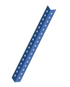 Angulo estanteria ranurado p40 2,5 mt metal azul mecalux 40-2,5