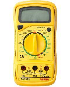 Multimetro electricista 10amp hepoluz ma digital precision 8935255