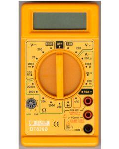 Multimetro electricista silver electronics ma digital precision categoria ii 9964