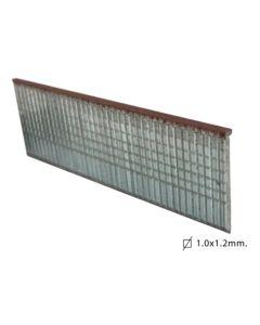Clavo clavadora neumatica modelo t 10mm hierro brico ok 1.000 pz 0336001