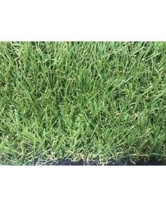 Cesped artificial 4 tonos 1x5mt 22mm verde khuskan natuur