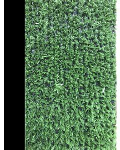 Cesped artificial 1 tono 1x5mt 7mm verde moqueta natuur