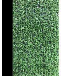 Cesped artificial 1 tono 2x25mt 7mm verde moqueta natuur