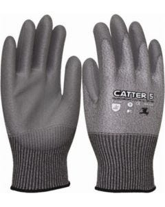 Guante anti-corte palma poliuretano fibra vidrio catter 5 3l wx-020 t9