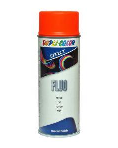 Laca acrilica fluorescente 400 ml spray rojo duplicolor