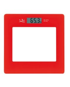 Bascula baño electronica 150kg roja jata hogar