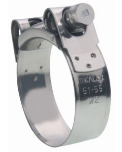 Abrazadera fijacion  29-31mm inox w2 mikalor