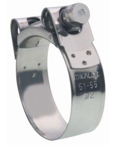 Abrazadera fijacion  34-37mm inox w2 mikalor
