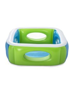 Piscina hinchable 168x168x56cm infantil bestway plastico window cuadrada 51132   115484