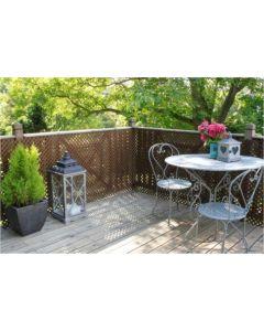 Celosia jardin 1x2mt/20x20mm marron nortene