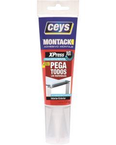 Adhesivo montaje tubo 135 gr montack express ceys