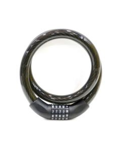 Candado antirrobo moto cable 22x1000mm nivel nv115800