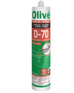 Masilla acrilica sellante interior/exterior olive d-70 blanco