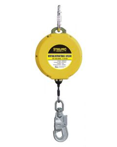 Dispositivo seguridad cable anticaida 10mt abs steelpro 1888-b10
