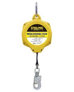 Dispositivo seguridad cinta anticaida 10mt steelpro 1888-b10c