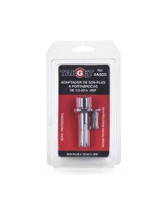 Adaptador portabrocas 1/2-20h a sds plus target
