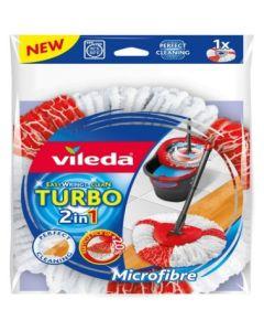 Fregona limpieza recambio microfibra turbo 2 en 1 vileda 151608         116939
