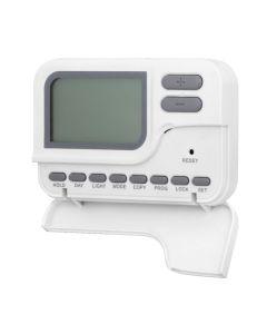 Cronotermostato domotica digital programable plastico blanco coati af126685