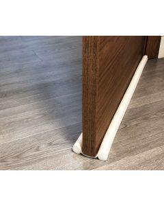 Burlete bajo puerta 095cm burcasa pvc blanco doble rollo 110034