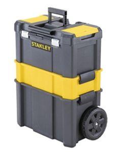 Arcon herramientas taller movil con ruedas 475x285x623mm esential 3 en 1 stanley