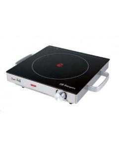Vitroceramica cocina 2000w 1 zona 28x28cm inox orbegozo