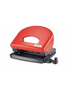 Perforadora papel oficina petrus rojo 62 623353