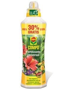 Abono plantas liquido universal 1,3 lt compo