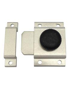 Pasador carpinteria metalica ruleta aluminio negro 6825 micel