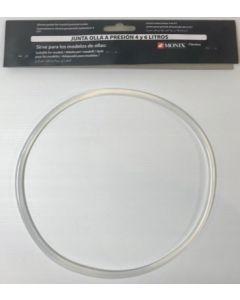 Goma olla presion 22cm silicona classica 4/6lt monix bra m957000