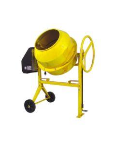 Hormigonera construccion electrica monofasica corona metal 160lt 650w amarilla l
