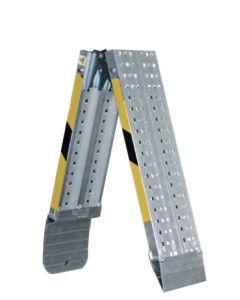 Rampa plegable aluminio 200x20cm 8kg carga 400kg svelt rlp20