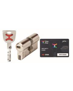 Cilindro seguridad 30x30mm niquel ap4 s cisa 1.0p3s1.07.0.1200.c5