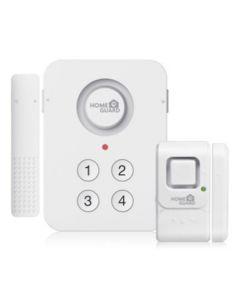 Alarma inalambrica 3 sensores+teclado home guard