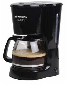 Cafetera electrica goteo 800w 15tz cristal orbegozo cg 4024 n
