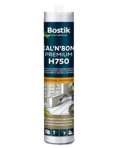Adhesivo sellador polimero bostik 290 ml gris 30609046