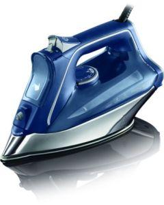 Plancha vapor 2800w antigoteo azul/blanco rowenta