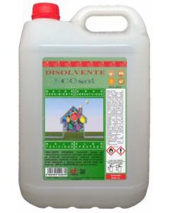 Disolvente universal envase plastico 5 lt ecosol disopol