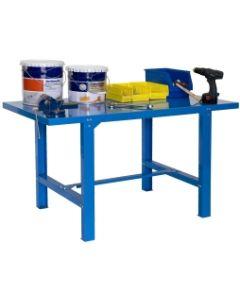 Banco trabajo 1 balda con tornillos 830x1500x730mm metal azul simonrack 444100218841571