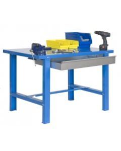 Banco trabajo 1 balda con tornillos 830x1500x730mm metal azul simonrack 444109218841571