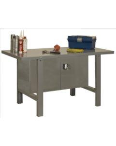 Banco trabajo 1 balda con tornillos 830x1200x730mm metal gris oscuro simonrack 333100218001200