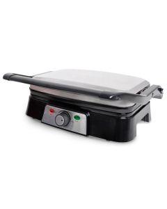 Grill cocina electrico 1500w 280x31x115mm inox kuken