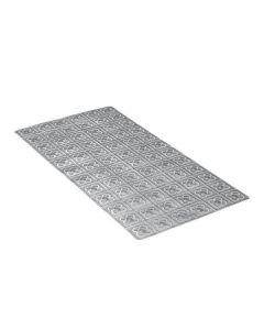 Alfombra baño antideslizante bañera 72x36 polipropileno gris bcn tatay 5511706