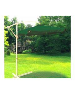 Parasol jardin lateral sin faldon 3mt aluminio verde natuur nt123405         123405