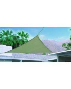 Toldo jardin triangulo 5x5x5m natuur beige nt123415