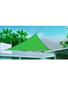 Toldo jardin triangulo 3x3x3m natuur verde nt123419