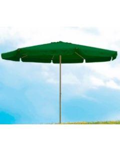 Parasol jardin redondo 4m aluminio verde natuur nt123514