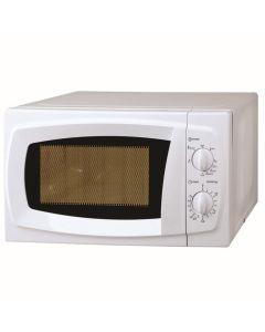 Microondas electrico con grill 700w 20lt blanco kuken 33763