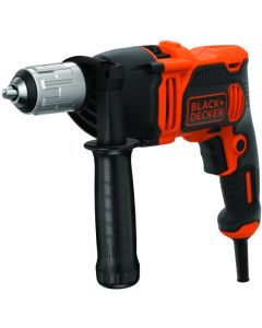 Taladro percutor sin llave 850w-13mm- black+decker