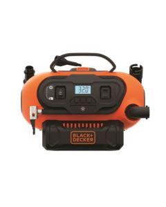 Compresor presion ca230v-cc12/18v mini black+decker 160psi bdcinf18n-qs